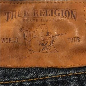 True religion darker blue jeans